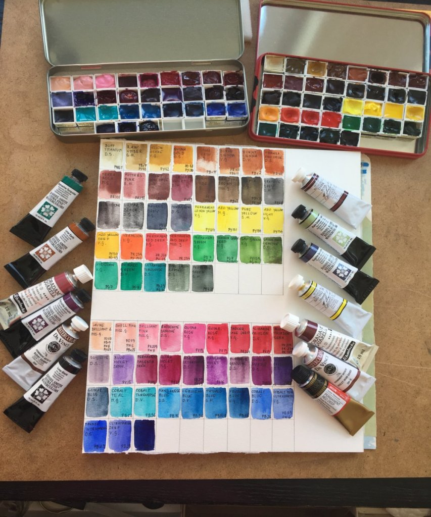 My palette right now… IMG_2023