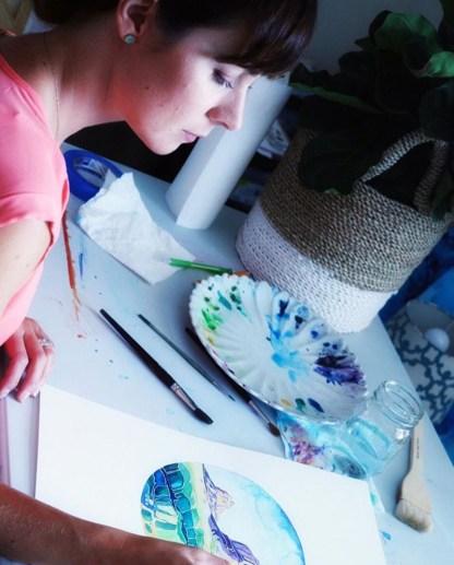 In The Studio - Esther Moorehead - Doodlewash