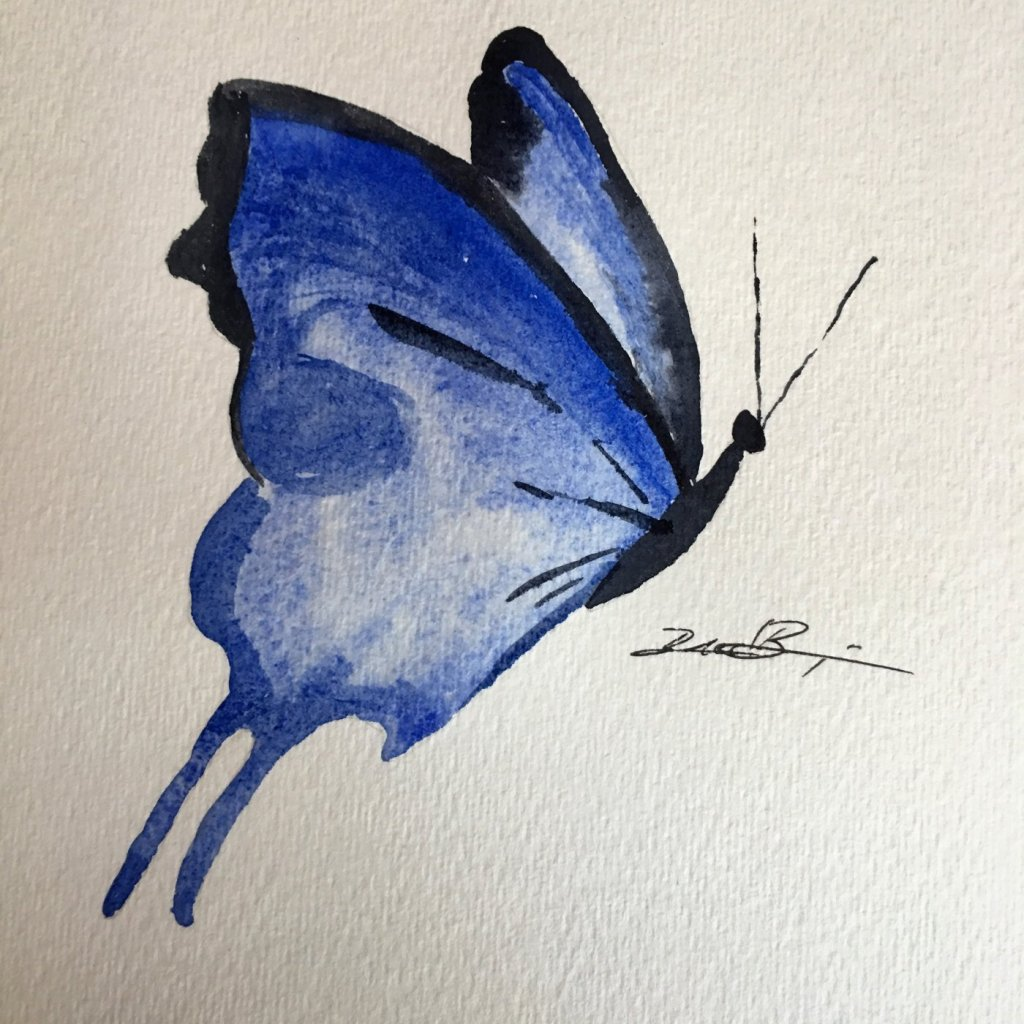 Day 8: Flying Things – Not much more graceful or colorful than summer's butterflies. #worldw