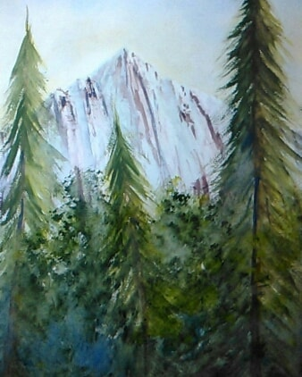 this my first time create a mountain in watercolor 37419669_213137416194372_3582576034278539264_n