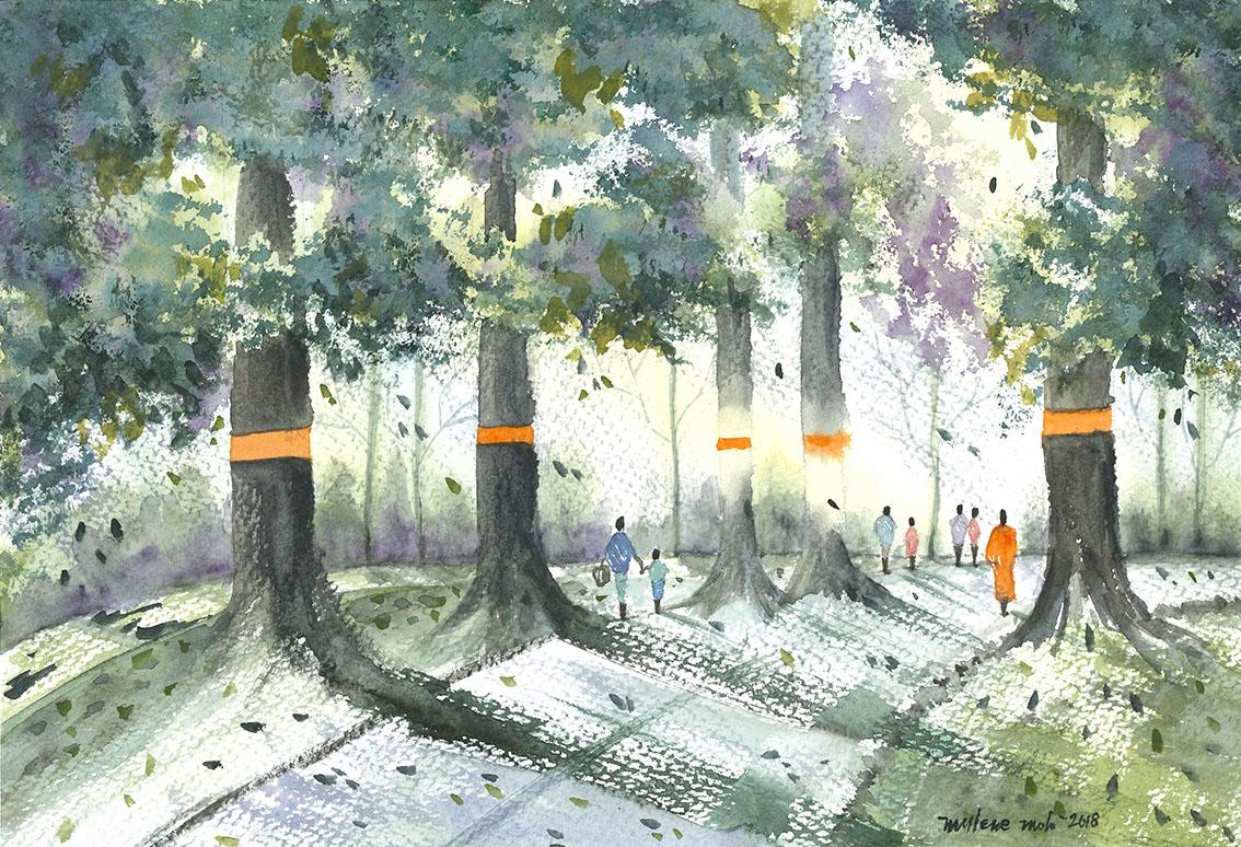 "GUEST ARTIST: ""Embracing Irregularity"" by Mylene Molo"