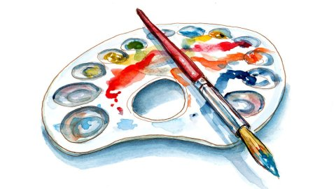 Day 31 - World Watercolor Month Celebration Of Color Palette - Doodlewash