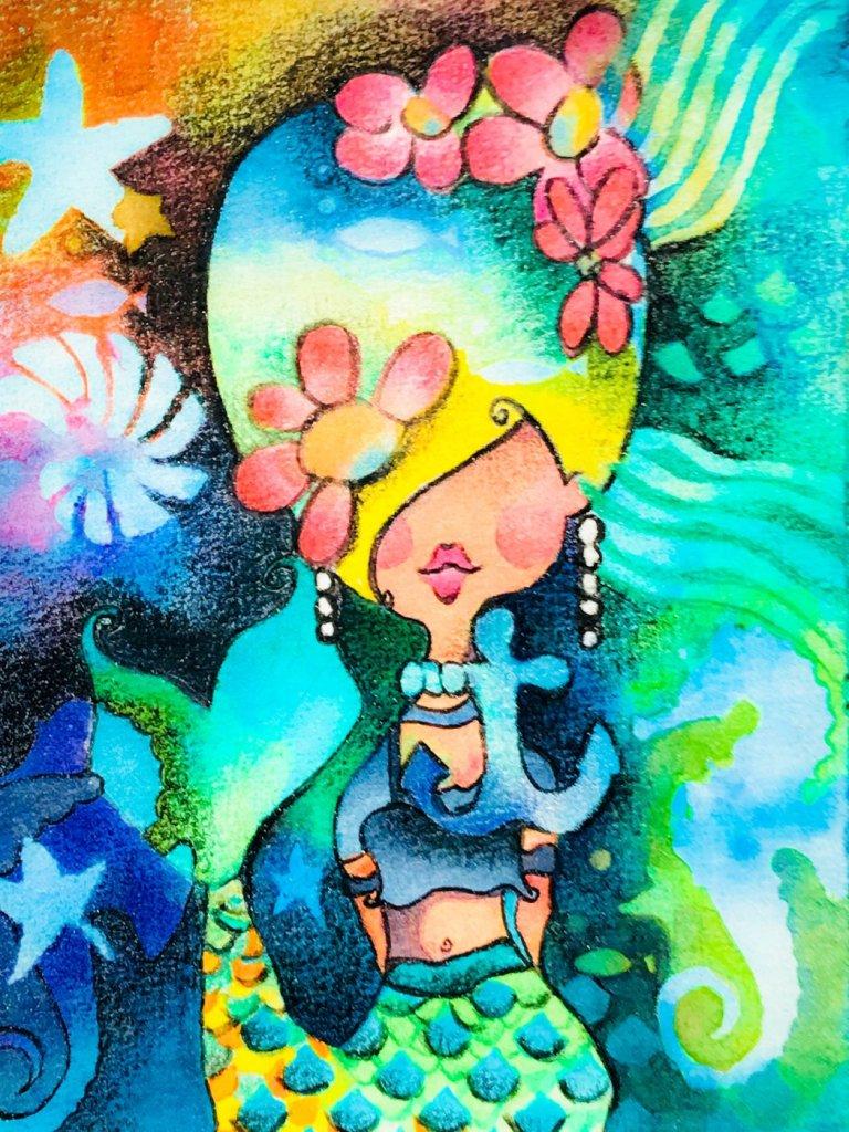 Aquanut Watercolors and Colored Pencils on Canson 140lb. FA3759C4-E3B6-4133-9625-92A04E8B4862