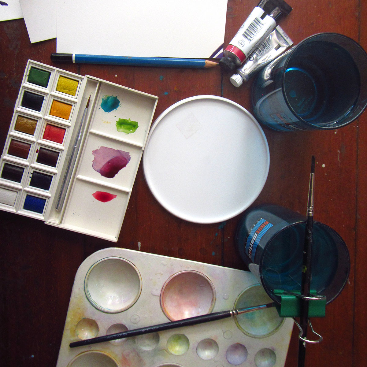 Simple Watercolor Supplies for Beginners