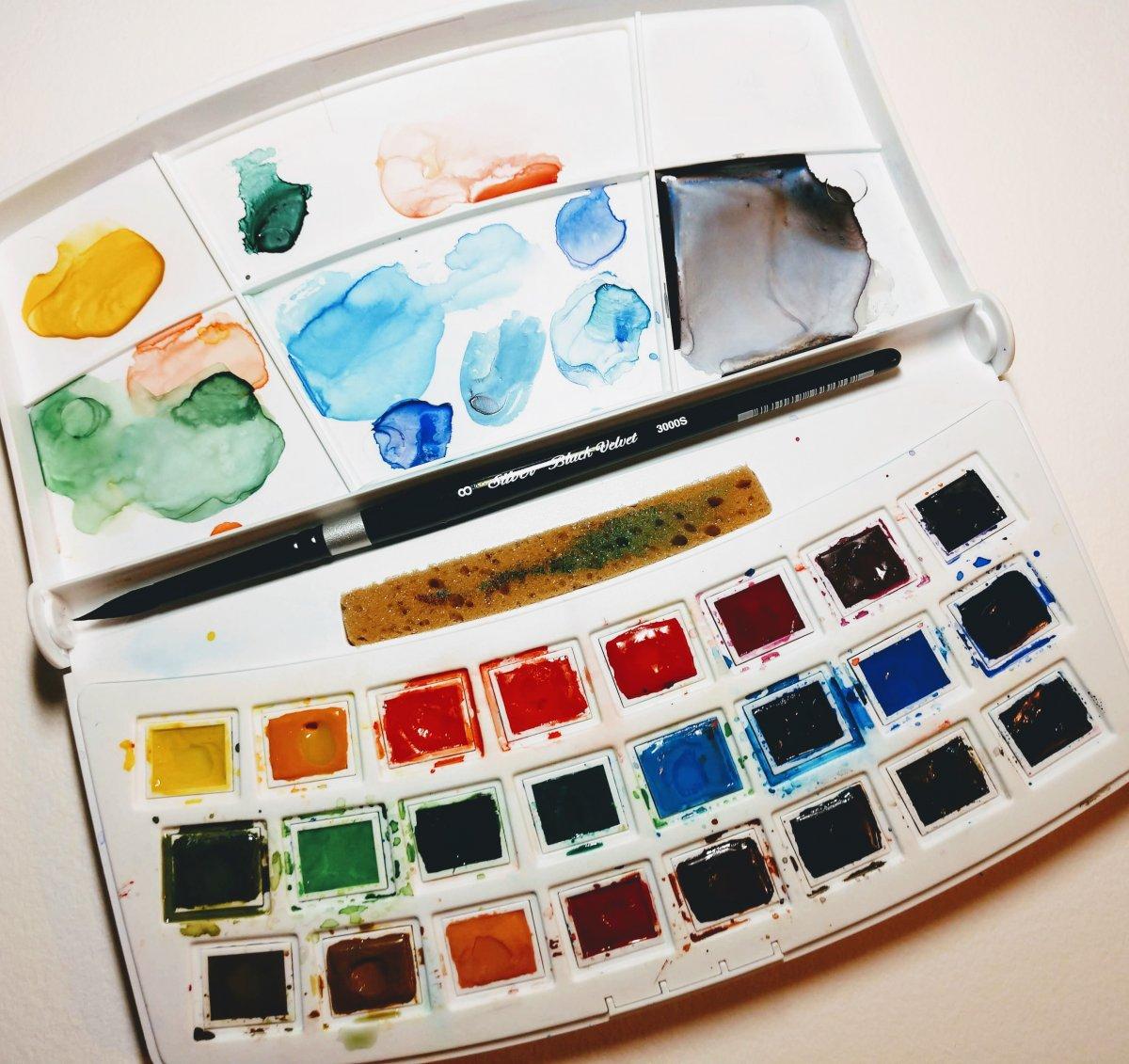 Van Gogh Watercolor Sketcher's Box