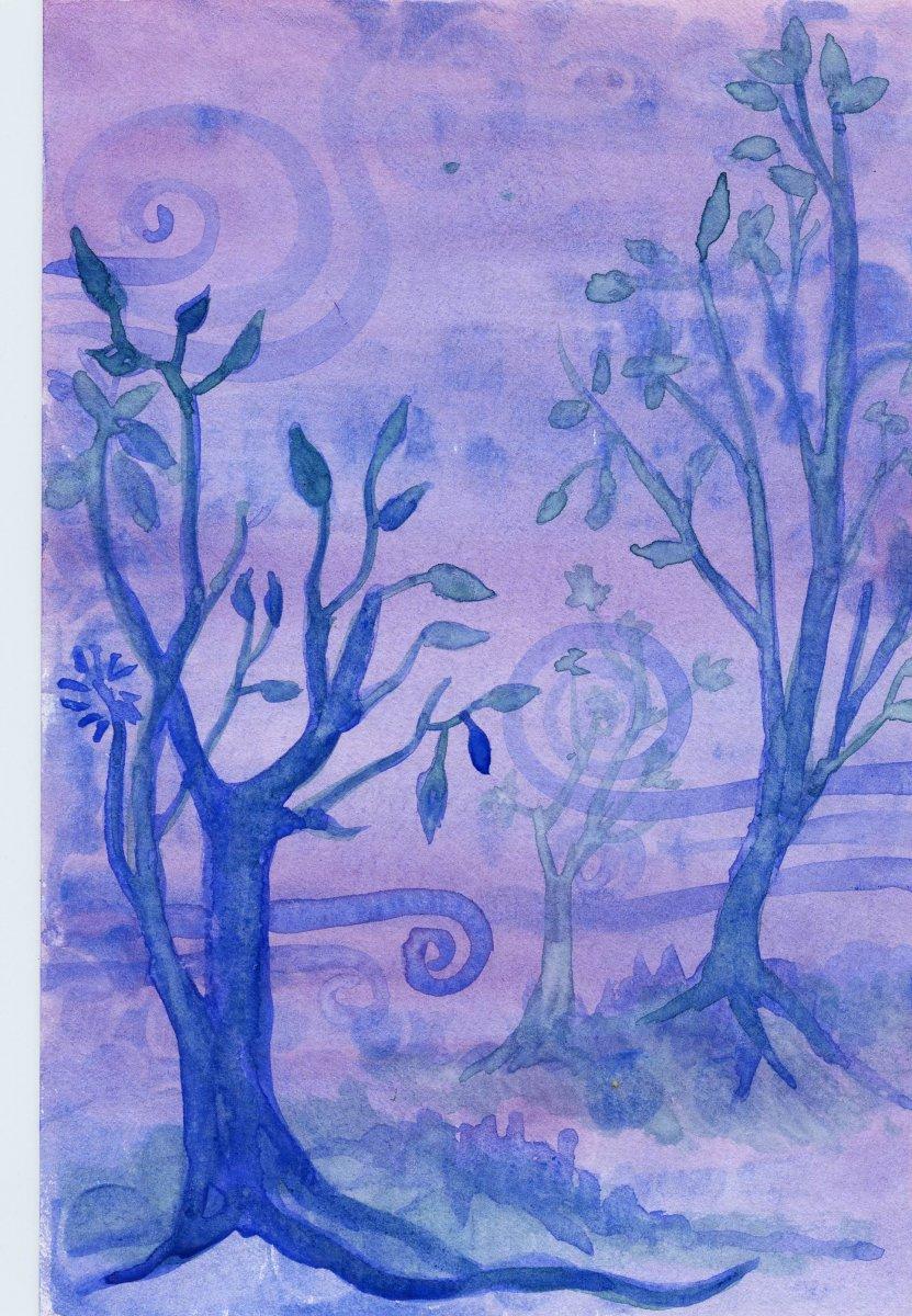 Princeton Velvetouch Brush Watercolor Painting Example Sandra Strait - Doodlewash