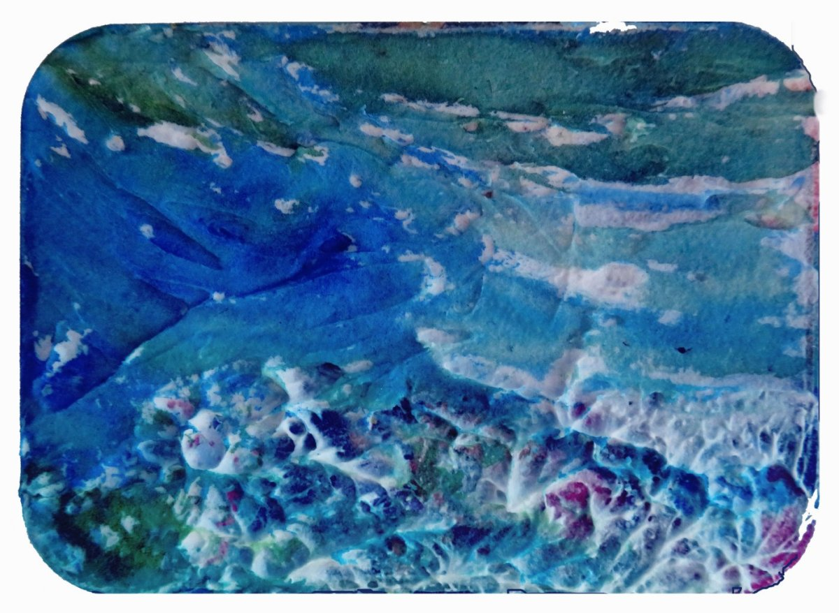 QoR Watercolor Light Dimensional Ground Painting Example - Doodlewash