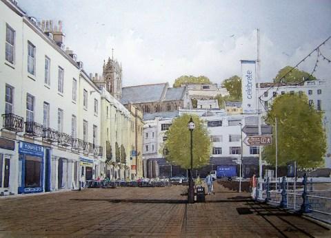 Andrew Lucas Watercolor Painting - Doodlewash #WorldWatercolorMonth