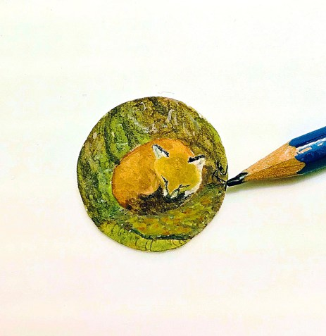 Miniature Painting by Ruthely Escobar - Doodlewash