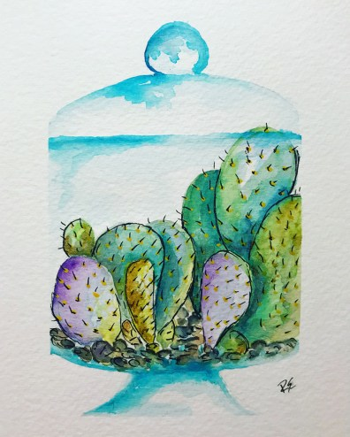 Watercolor Painting by Ruthely Escobar - Doodlewash