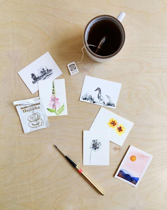 Sketches by Lisa Spangler - Doodlewash