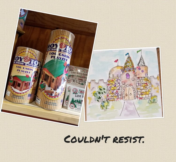 Aug 17 prompt: Castles #doodlewash #doodlewashed #worldwatercolorgroup 20180830_111605