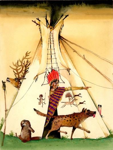 Book Illustration by Petr Annenkov