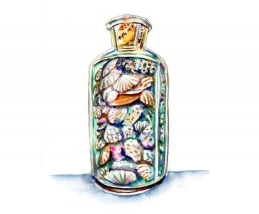 Day 6 - Seashells In A Bottle_
