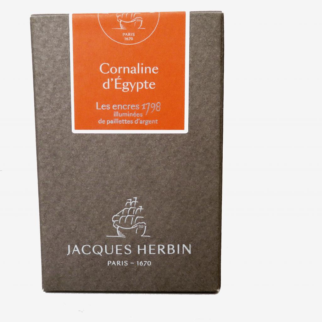 Cornaline d'Egypte J. Herbin Ink box