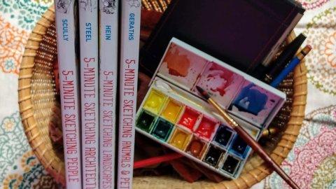 5-Minute Sketching Book Series