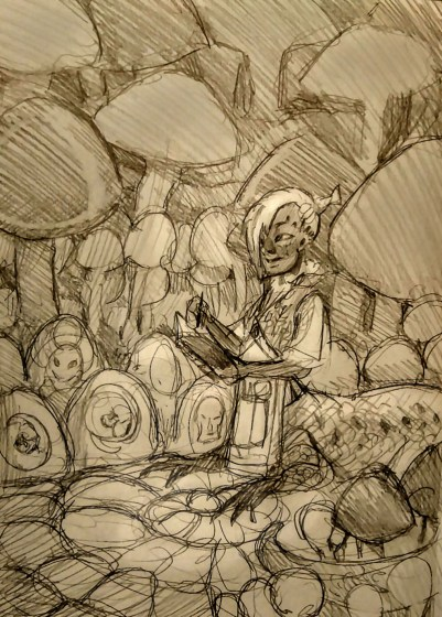 Illustration by Odd Jacobson - Doodlewash