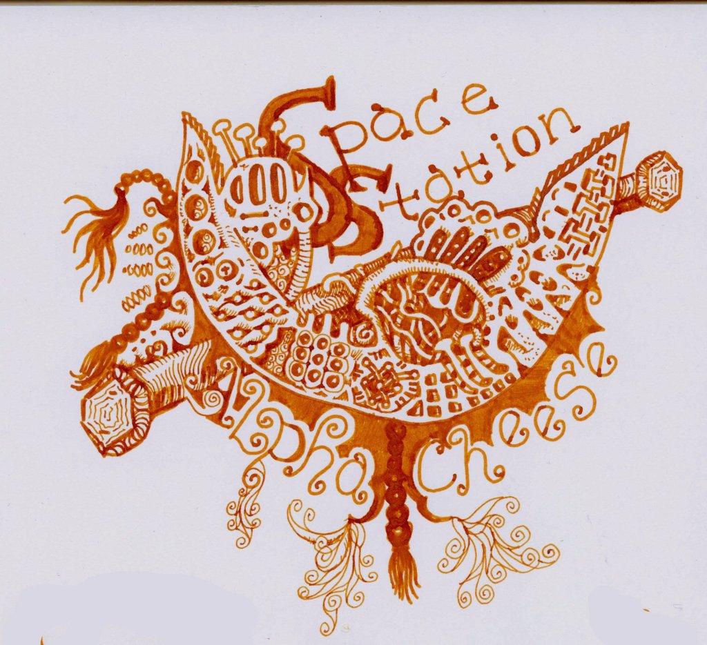 Cornaline d'Egypte J. Herbin Ink - Pen & Ink Drawing - Doodlewash