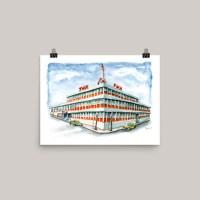 TWA-Moonliner-Building-Kansas-City-Watercolor-Print-Signed