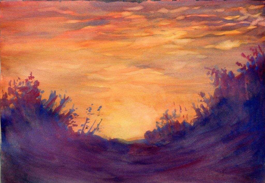 Painting by Sandra Strait - Doodlewash