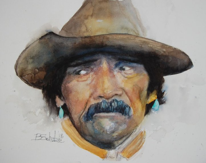 Watercolor Painting by Brad Schulze - Doodlewash