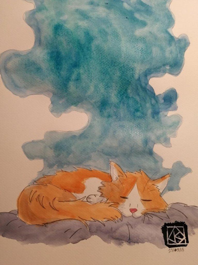 Sleepy Cat's dream IMG_20180926_170729