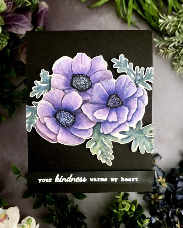 Anemones Watercolor by Rubeena Ianigro - Doodlewash