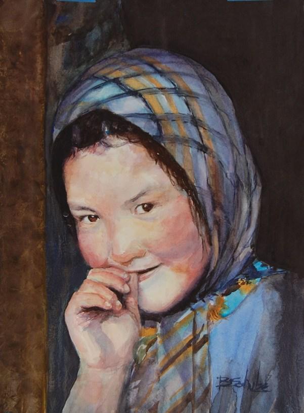 Watercolor Painting by Brad Schulze - Doodlewash