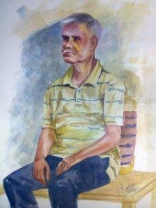 Watercolor Portrait watercolor Portrait 1-9-18