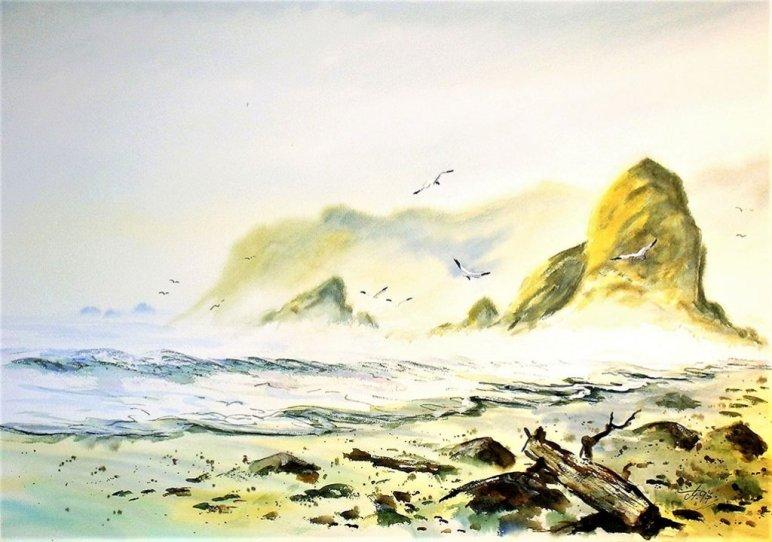 Portugal Watercolor by Thomas Mühlbauer - Doodlewash