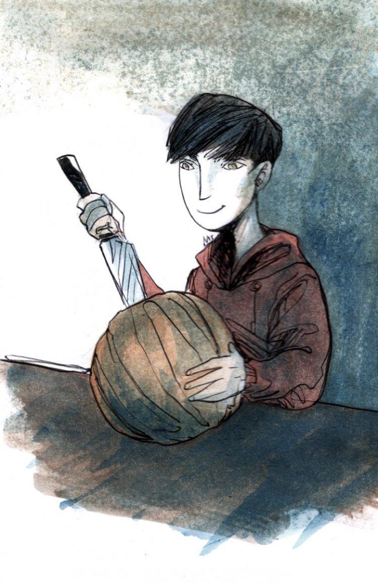 Doodlewash ▪ October ▪ Day 28: Pumpkin 28 pumpkin