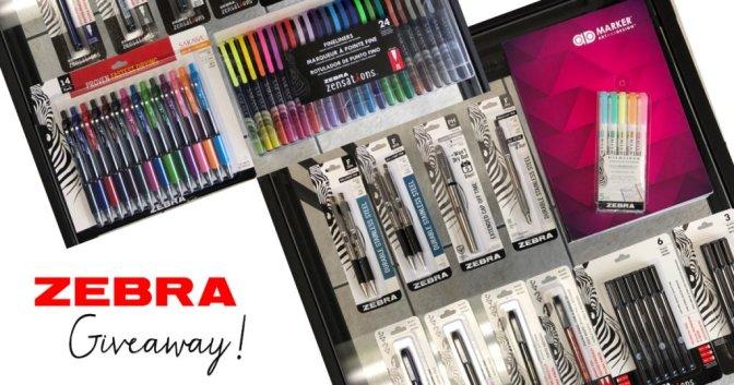 Zebra Pen Inktober Giveaway Sharing Image - Doodlewash