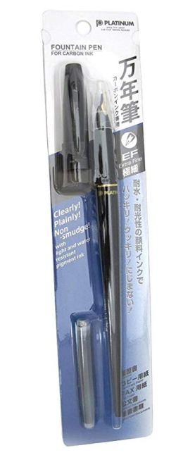 Platinum Carbon Fountain Pen