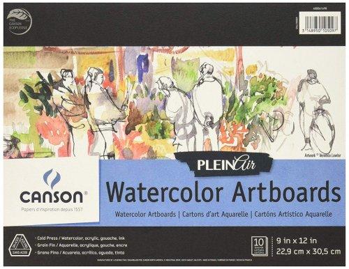 Canson Watercolor Artboards