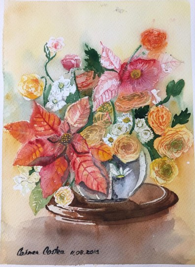 Flowers Watercolor by Carmen Costea - Doodlewash