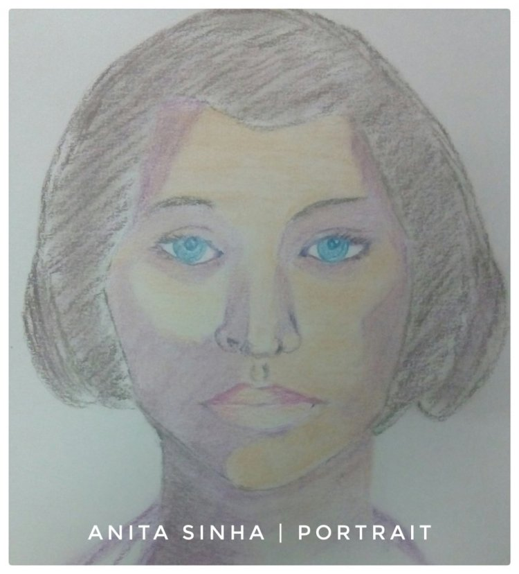Portrait Practice – Young girl. #doodlewashDecember2018 IMG_20181213_190243_654-01