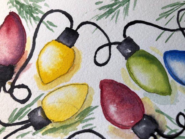 Christmas lights will light the way! IMG_3815