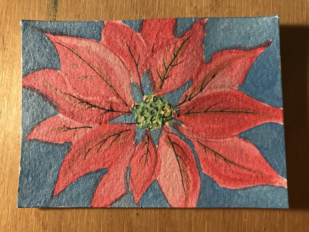 OOLY pallette in glitter colors poinsettia