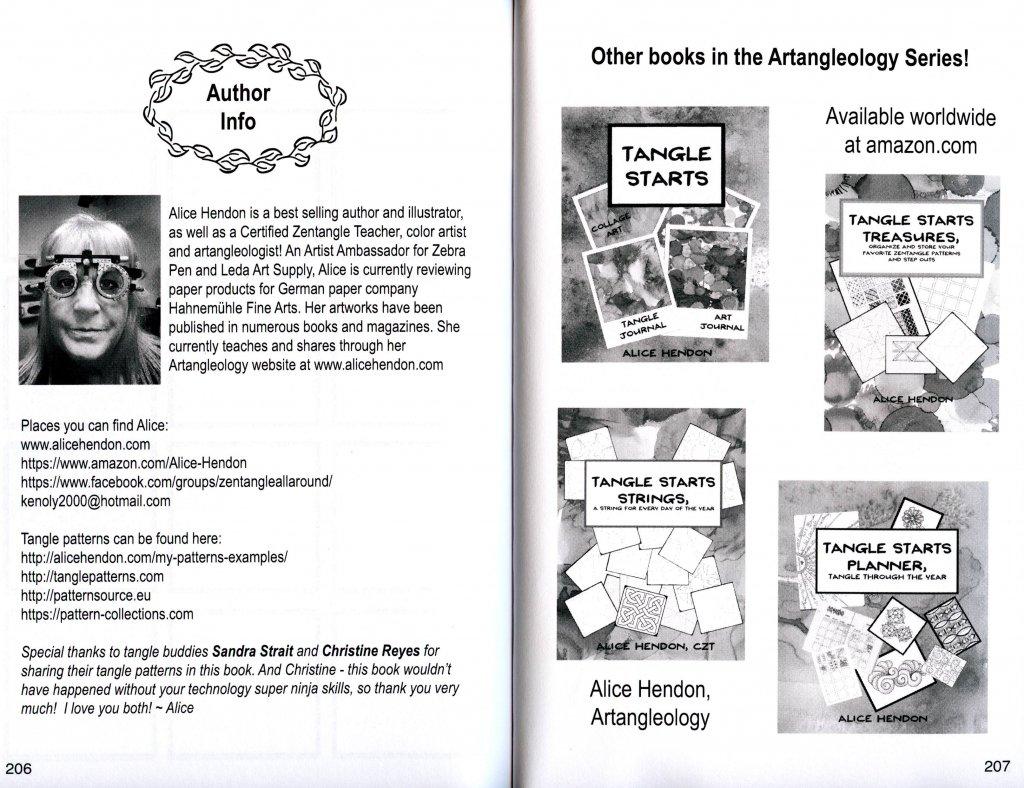 Alice Hendon Book Interior Author Info