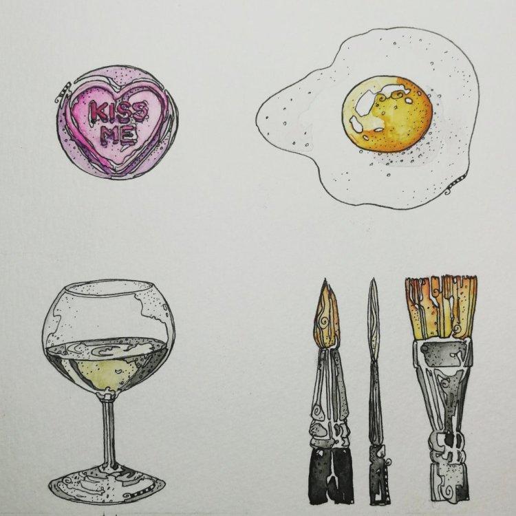 January Art Challenge, 13-16 IMG_20190115_213423_167