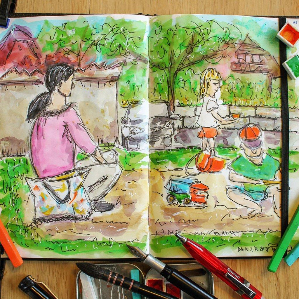 Urban Sketchers Sketching Example Dominik Neuffer 12 - Doodlewash