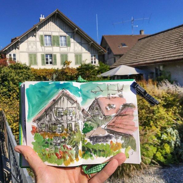 Urban Sketchers Sketching Example Dominik Neuffer 19 - Doodlewash
