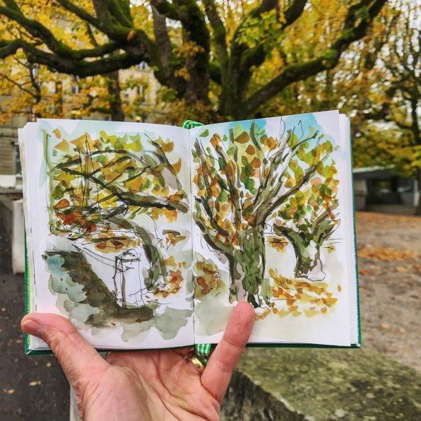 Urban Sketchers Sketching Example Dominik Neuffer 21 - Doodlewash