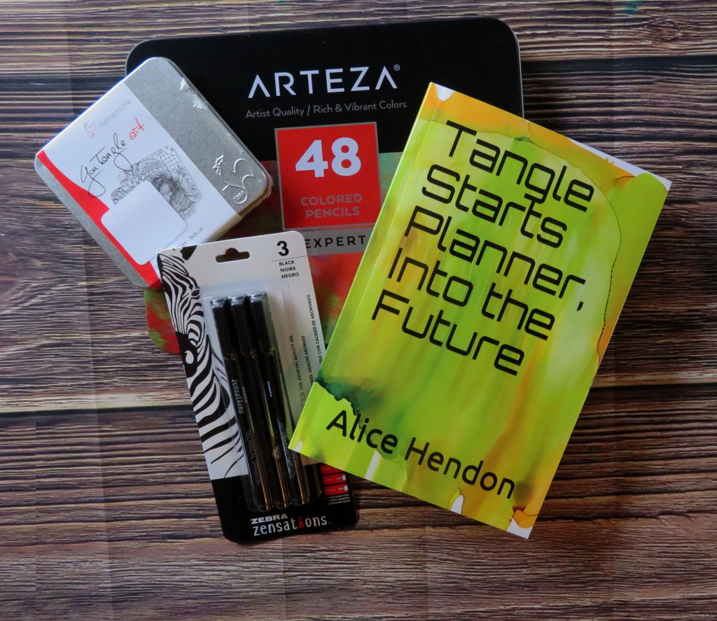 Tangle Starts Planner Alice Hendon Book Cover