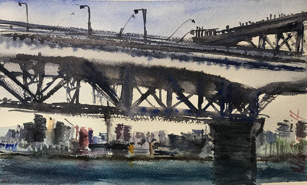 watercolor Painting by Mila Renault - Doodlewash