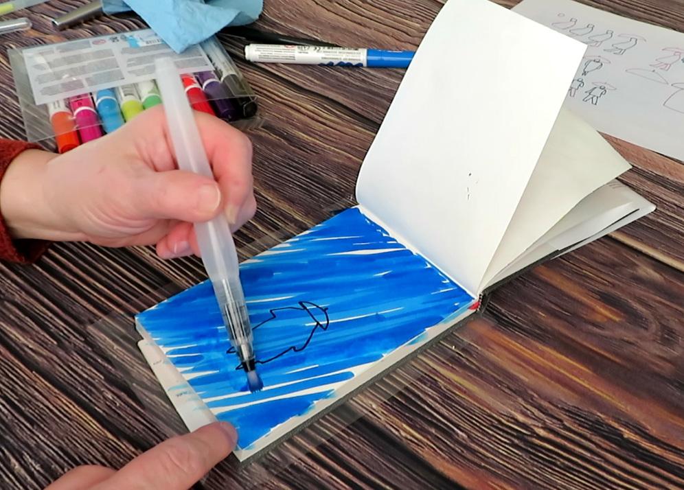 Easy Painting Tutorial Example - Doodlewash