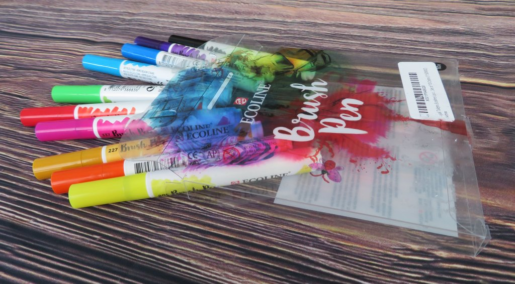 Ecoline Watercolor Brush Pen Set Royal Talens