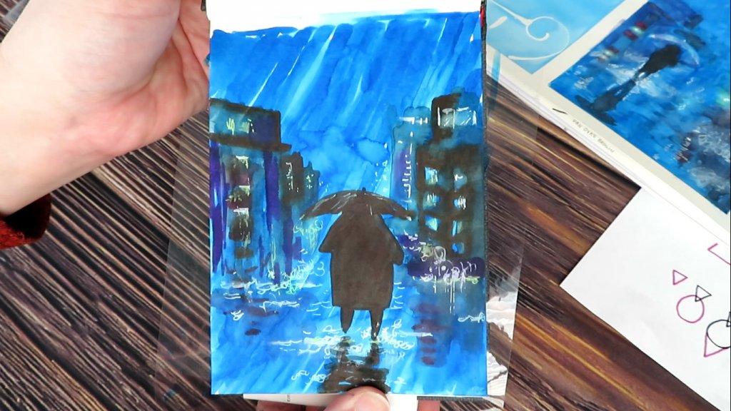 Easy Painting Tutorial - Final Image - Doodlewash