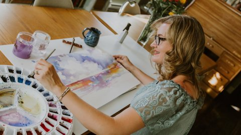 Angela Fehr Painting - Who's Your Favorite Artist?