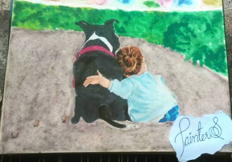 #PainterS #nonstopcreative March : 20 Topic : If Animals could talk If animal could talk everyone wi